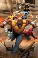 Mighty Avengers #1 by GURU-eFX