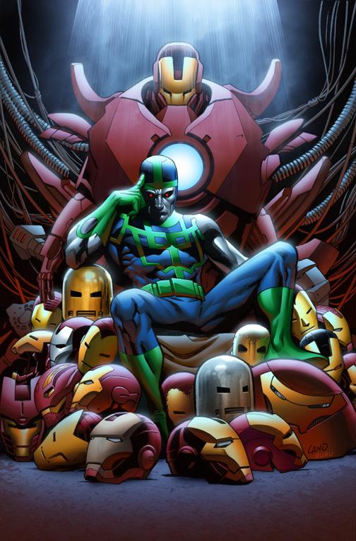 Iron Man Comic Cover 2013 Iron Man 15 Cover by Guru Efx