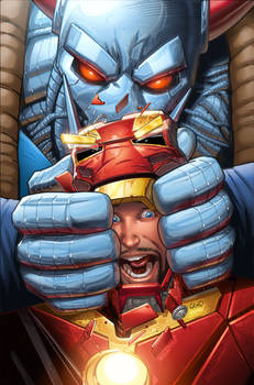 Iron Man issue 14 cover