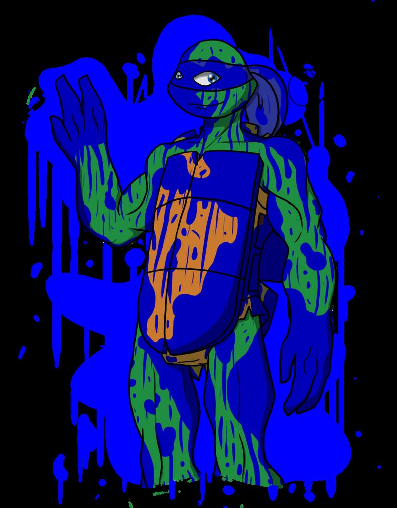 Ninja Turtle Green Paint