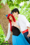Ariel and Eric by Itasil