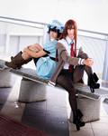 SG - Mayuri and Kurisu