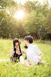 xxxHOLiC - Yuuko and Watanuki by Itasil