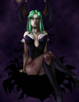DS - The Succubus' Kiss by Marshu