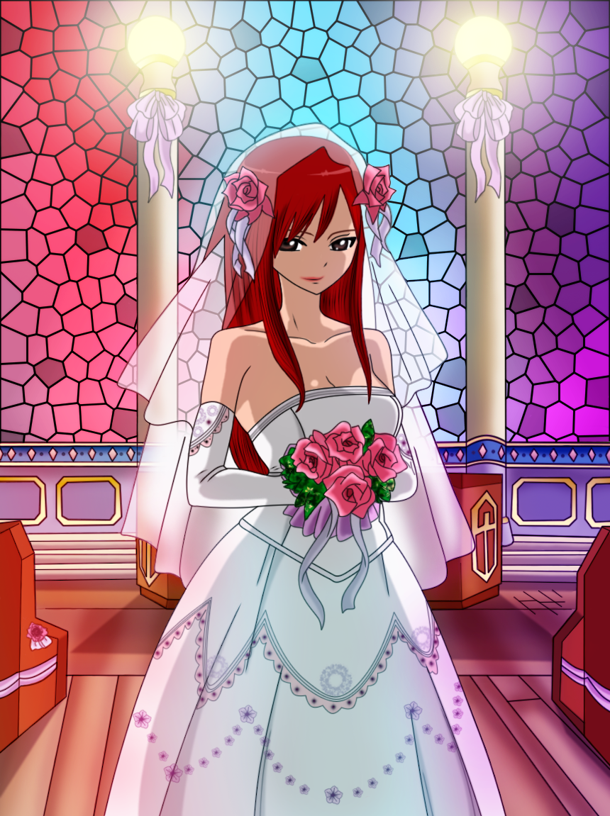 Images à gogo 8) Erza_the_bride_by_sexyadri