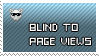 Stamp: blind to pageviews by ohhperttylight