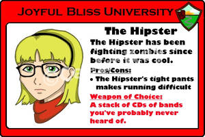 The Hipster by CeeEmKay