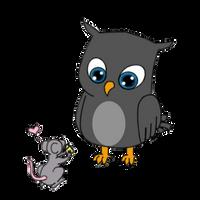 Owl Tattoo Design - 1 by CeeEmKay