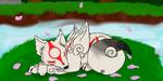 Okami (Speedpaint) by amywolf45