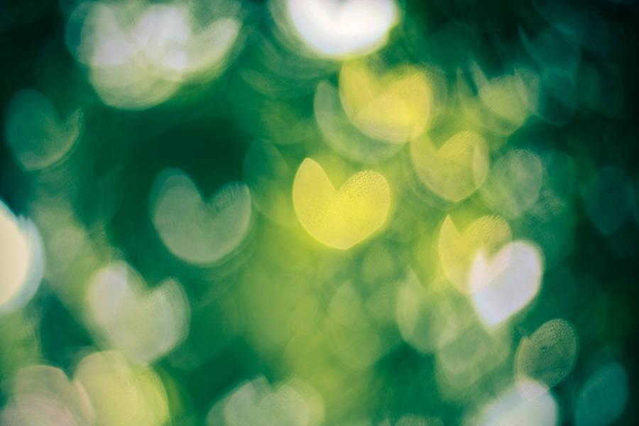 Heart Bokeh texture by erickeikun