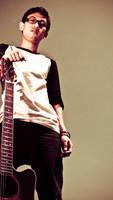guitarist by erickeikun
