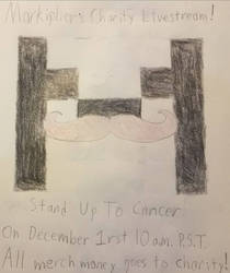 Mark Stands Up To Cancer! by ximeremix