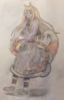 Waifu Month: Holo the Wise Wolf