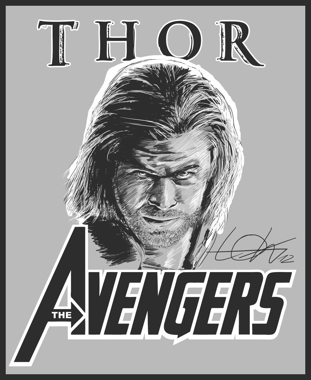 Thor by todmanhero