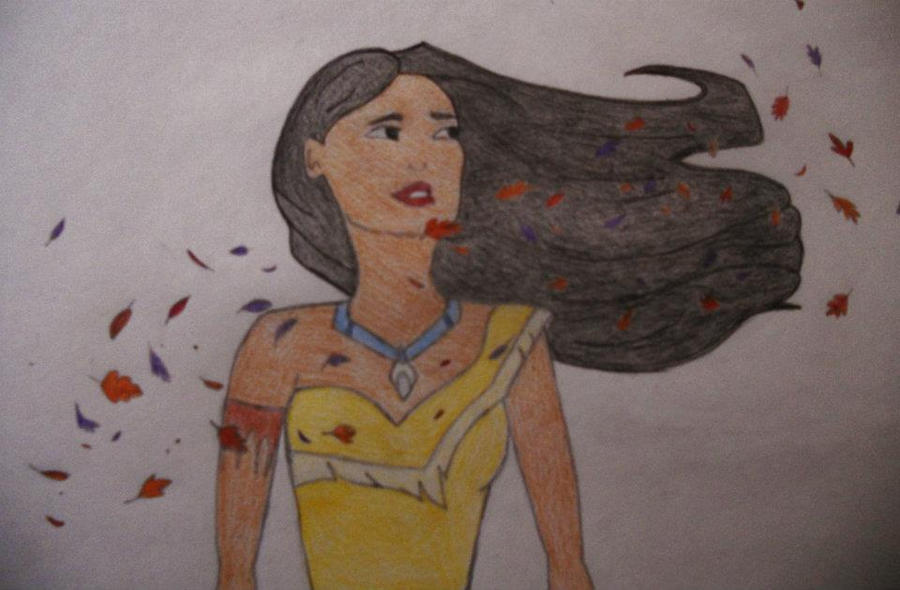 Pocahontas By Lauravictoriax3 On Deviantart