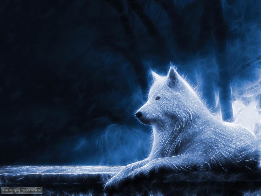 Fractalius: Wolf by rodrigopessanha
