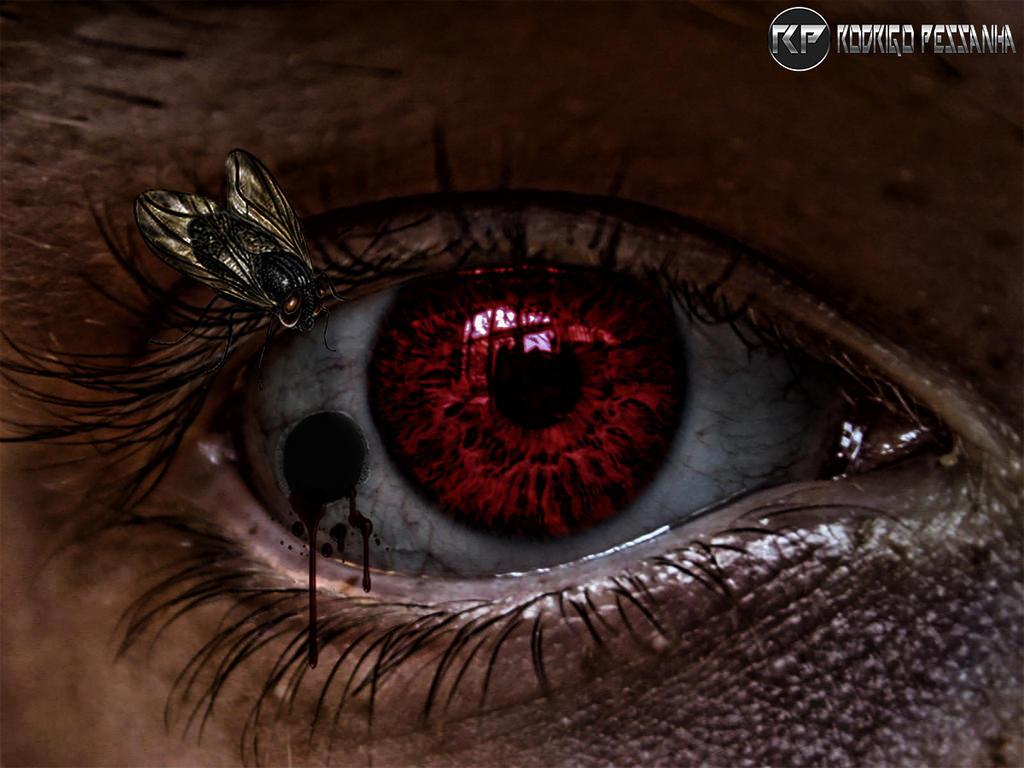 Eye - Dark Art by rodrigopessanha