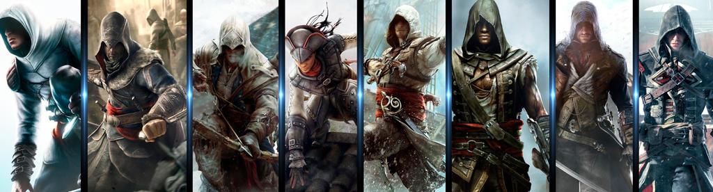 All assassins - Assassins Creed by rodrigopessanha