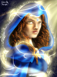 Moiraine of the Blue Ajah by Kaislentheya