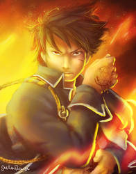 Roy Mustang, the Flame Alchemist by Kaislentheya