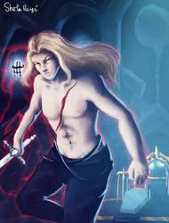 Alucard, son of Dracula (Castlevania) by Kaislentheya