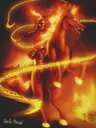 The Horseman of War by Kaislentheya