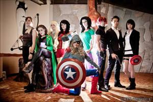 Avengers - Take You On by gwiishie