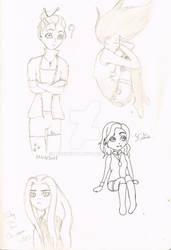 Sketchbook  - Girls