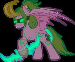 Illidan: Pony version by Rusilis