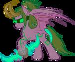 Illidan: Pony version