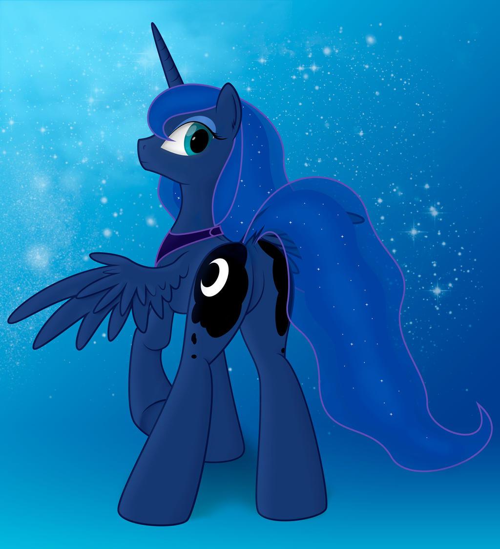 Princess Luna by Rusilis