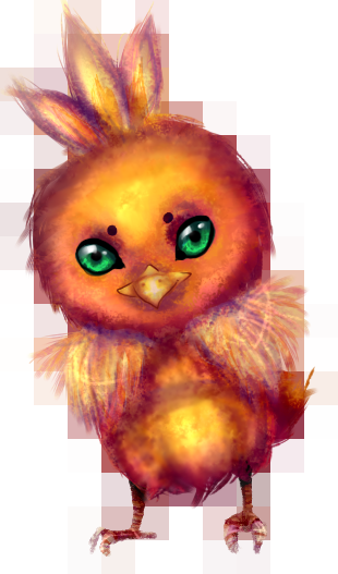 Renders Pokemons 02 Torchic_by_ying_yang__xd-d4sixst