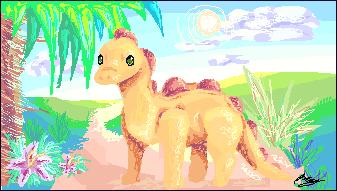 Dino by 3o2