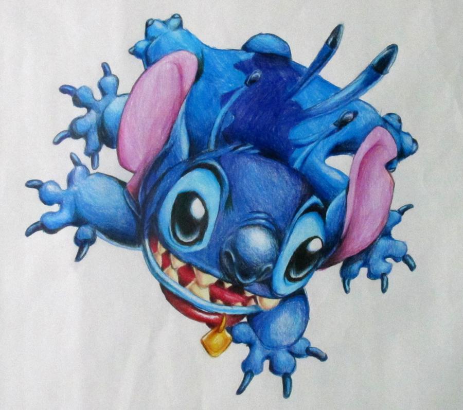 Stitch Grid Drawing by 3o2