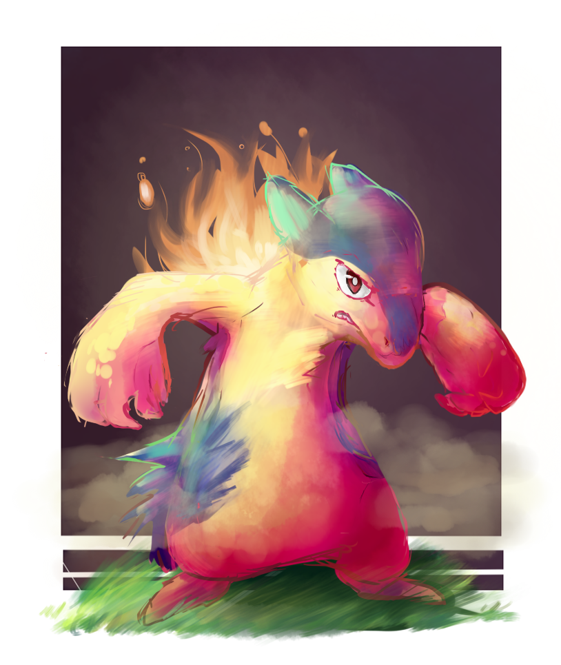 Typhlosion by 3o2