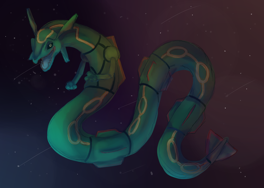 Rayquaza by 3o2
