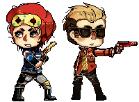 Danger Days Pixel by 3o2