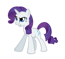 Rarity To The Rescue by ABadCookie