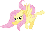Fluttershy Reverse High Kick