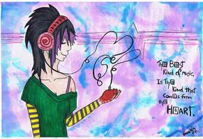 the music by vampiretrash