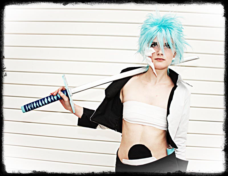 An unusual Grimmjow! by surlycat