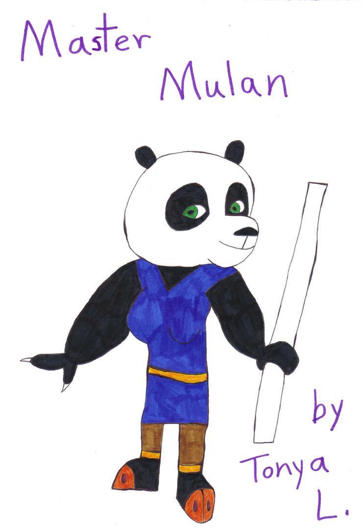 Mulan the panda by Tlsonic214