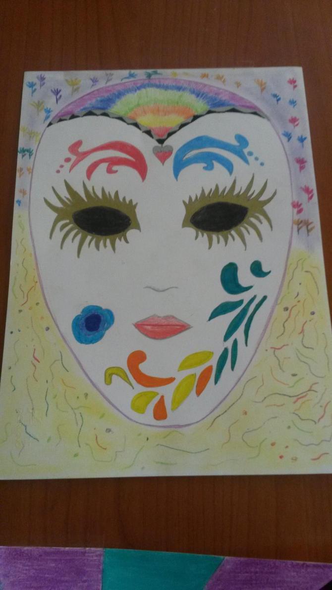 Carnival mask by darkfantasy02