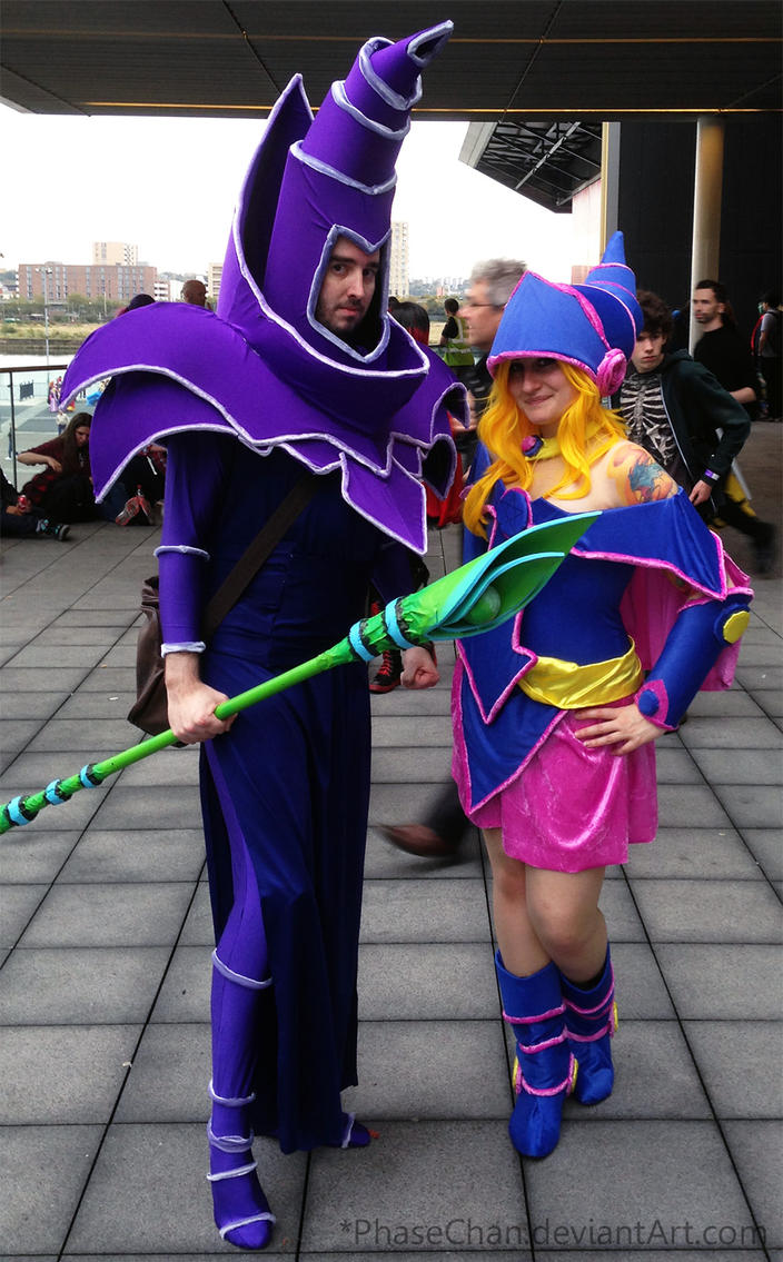 MCM London - Dark Magician + Dark Magician Girl by PhaseChan ... & MCM London - Dark Magician + Dark Magician Girl by PhaseChan on ...