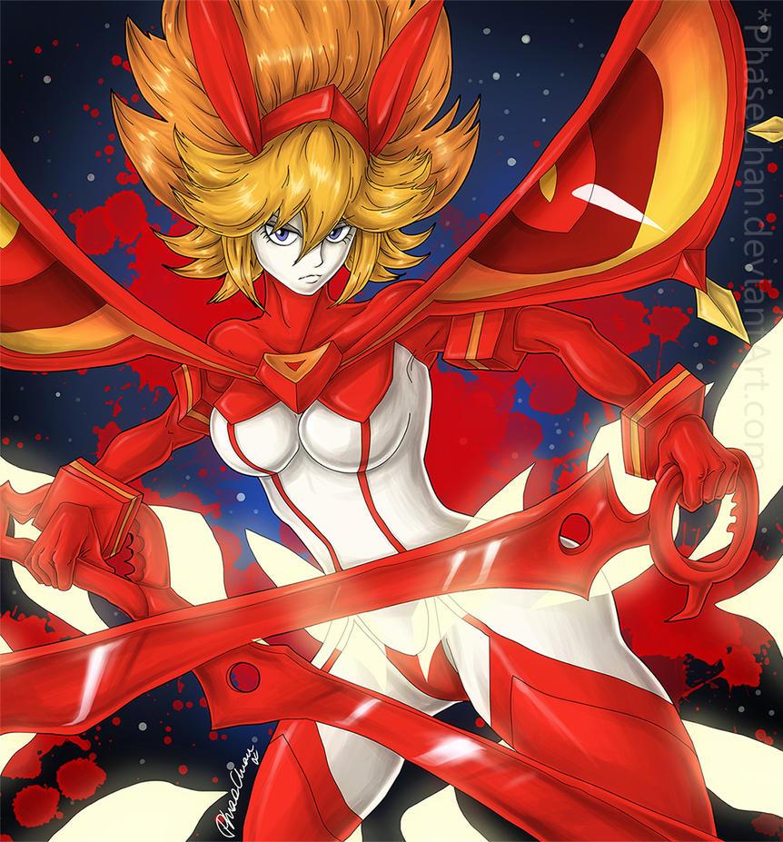 Ryuko Matoi - Final Form! by PhaseChan