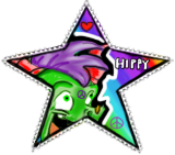 HIPPY STAMP 8D by Spyroflamesredsbum