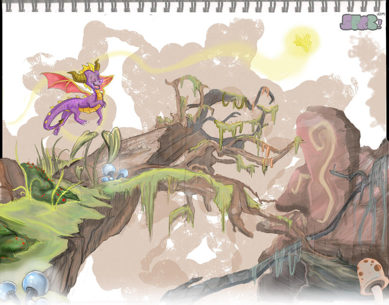 -Texture-Like-Sun- by Spyroflamesredsbum