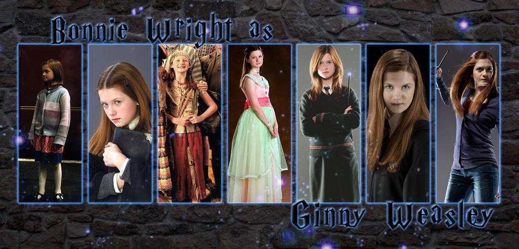 Ginny Weasley by HippieSarah94