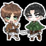 Eren and Levi (f2u if u want)