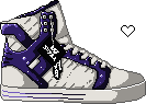 Love Supra - White+Purple by loulaLETHAL